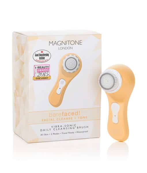 Magnitone Barefaced Verpackung gelb