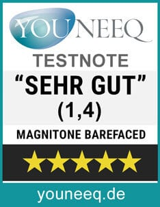 Magnitone Barefaced Test SEHR GUT