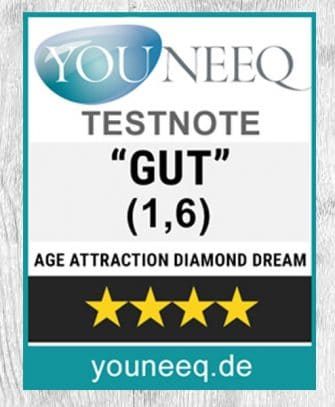 Age Attraction Diamond Dream Testsiegel