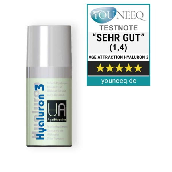 Age Attraction Hyaluron-3 Serum Test