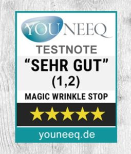 Magic Wrinkle Stop Test SEHR GUT