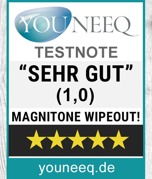 Magnitone WipeOut Test SEHR GUT