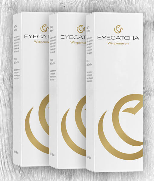 EYECATCHA Wimpernserum 3er Pack