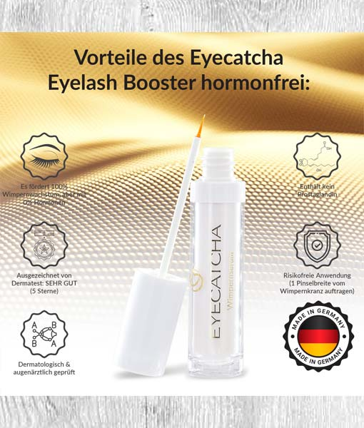 Eyecatcha Wimpernserum Made in Germany
