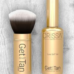 Get Brush Tan Set Gold