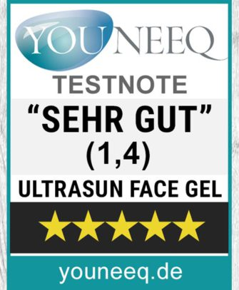 Ultrasun Face Gel Test SEHR GUT