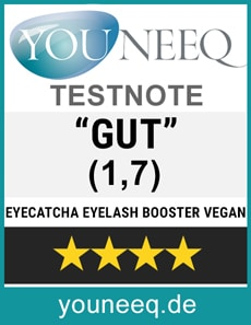 Eyecatcha Eyelash Booster vegan Test