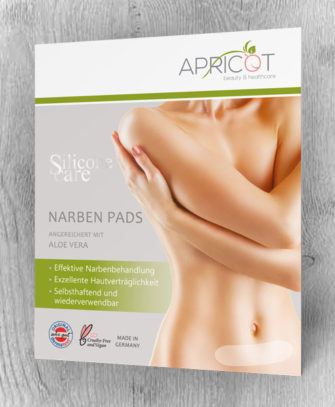 Apricot Silicone care Narben Pads