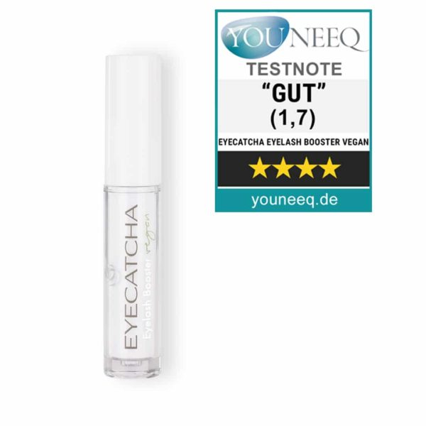 Eyecatcha Wimpernserum vegan Test