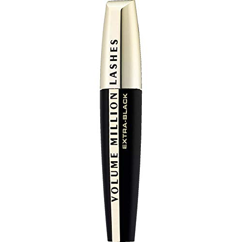 L'Oréal Paris Volume Million Lashes Mascara Extra Black, Wimperntusche für...