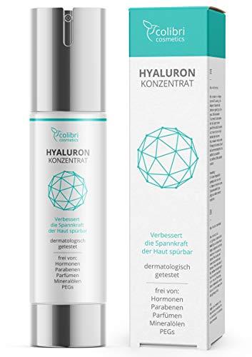 Hyaluronsäure Serum hochdosiert - Testsieger 2019 - natürliche Hyaluron...