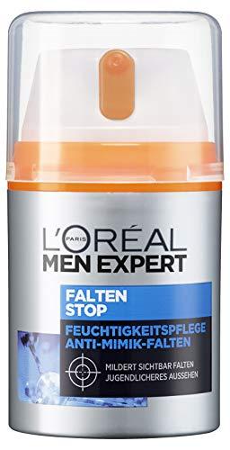 L'Oréal Men Expert Falten Stop, Gesichtscreme, mit hochdosierter Anti-Aging...