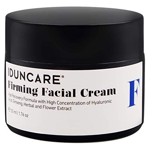 Iduncare Straffende Gesichtscreme - Anti Aging Hyaluron Creme mit Vitamin C &...