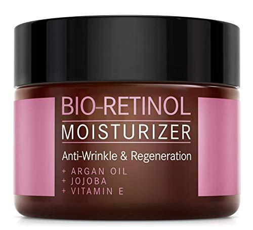 𝗕𝗜𝗢-Retinol Creme - 2,5% Retinol Anti-Aging Formel mit Vitamin E,...