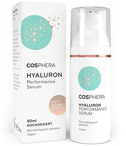 Cosphera - Hyaluron Performance Serum hochdosiert 50 ml - Hyaluronsäure...