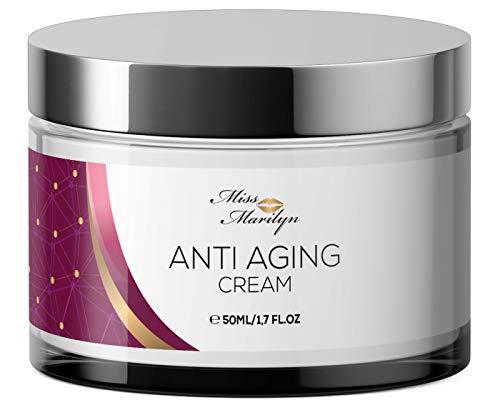Anti-Aging Creme & Anti Falten Creme hochdosiert - Feuchtigkeitscreme von Miss...