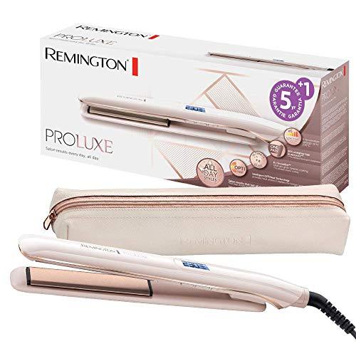 Remington Glätteisen PROluxe (OPTIheat-Technologie für lang anhaltende...
