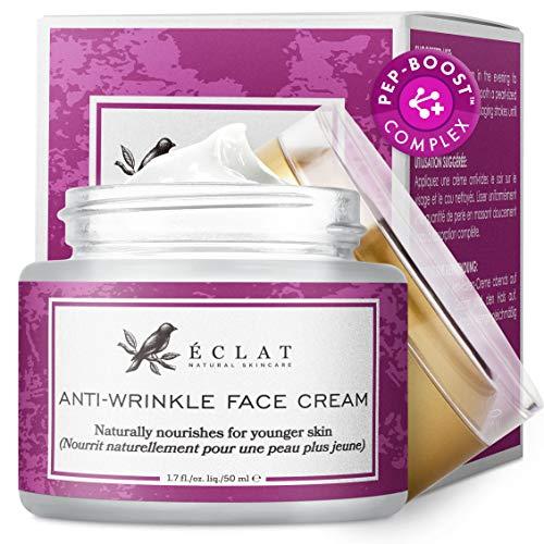 Anti-Falten Gesichtscreme - Extrem wirksame Anti-Falten Gesichtspflege mit...
