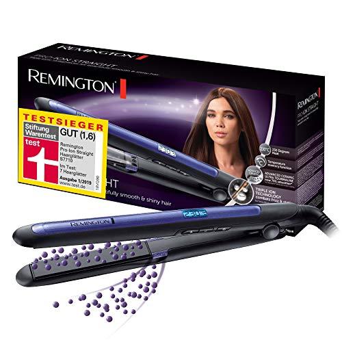 Remington Haarglätter Pro-Ion Straight S7710 zum Glätten & Locken, Testsieger,...