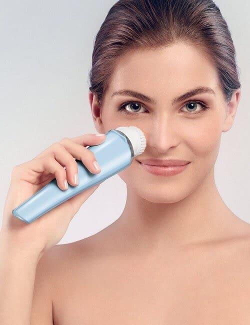 Philips VisaPure Essential Gesichtsreinigungsbürste blau Bild4