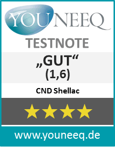 CND Shellac Test