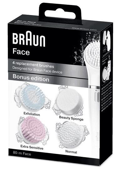 Braun Face Ersatzbuersten