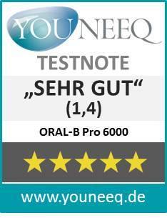 Braun Oral-B Pro 6000 elektrische Zahnbürste