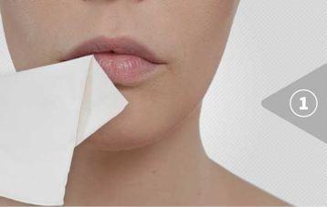 Lipbooster Anwendung