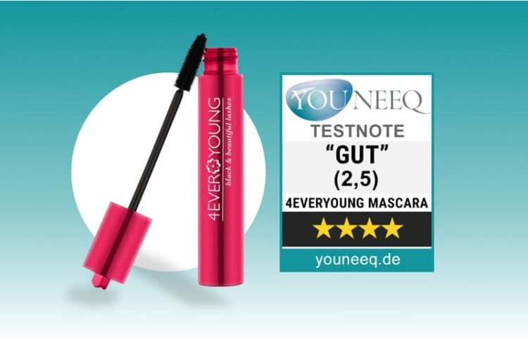 4ever Young Black & Beautiful Lashes Mascara Test