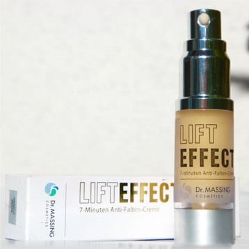 Antifaltencreme Lifteffect