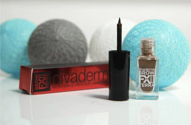 Divaderme Brow FX Terra Test