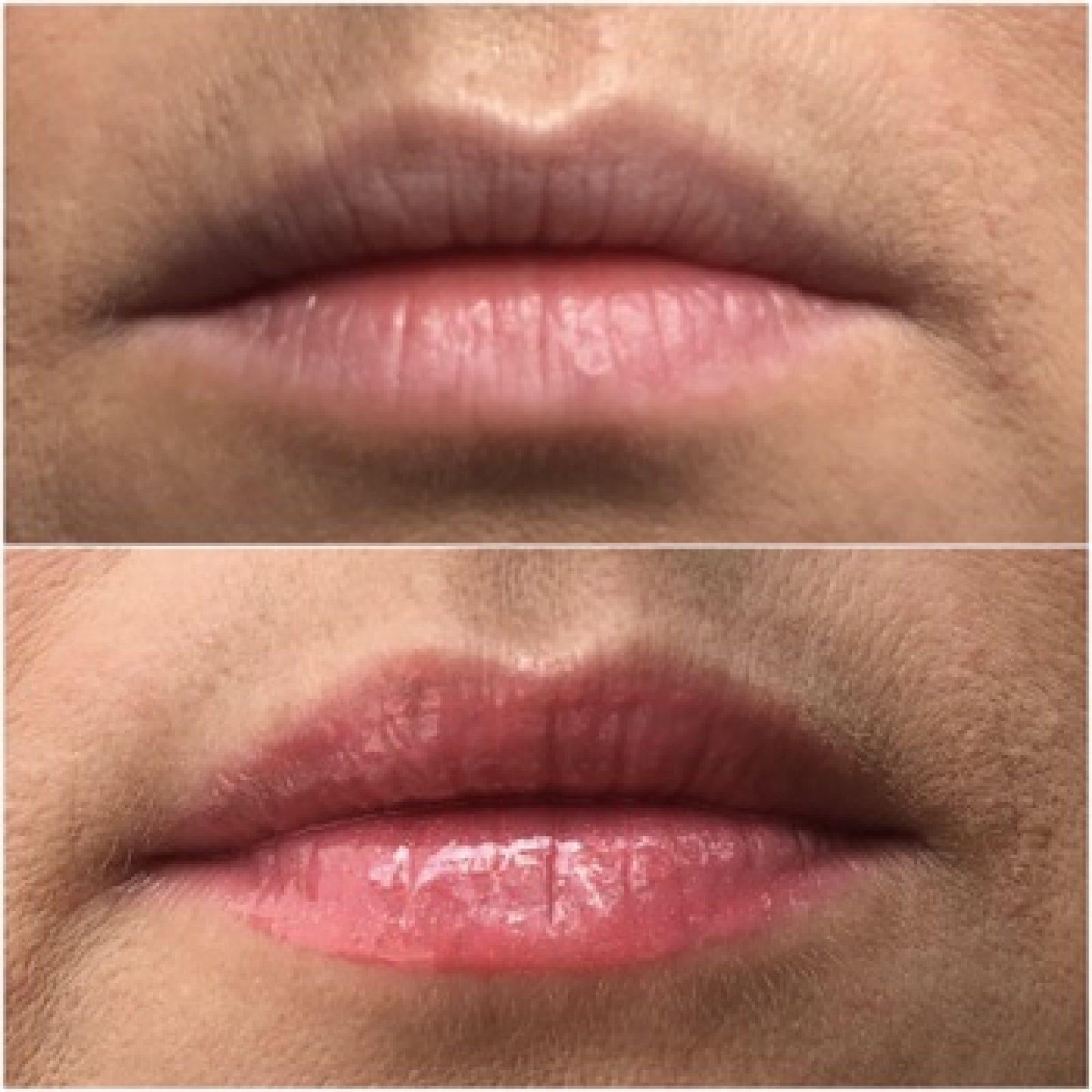 Luscious Lips vorher-nachher 329 Lovers Coral