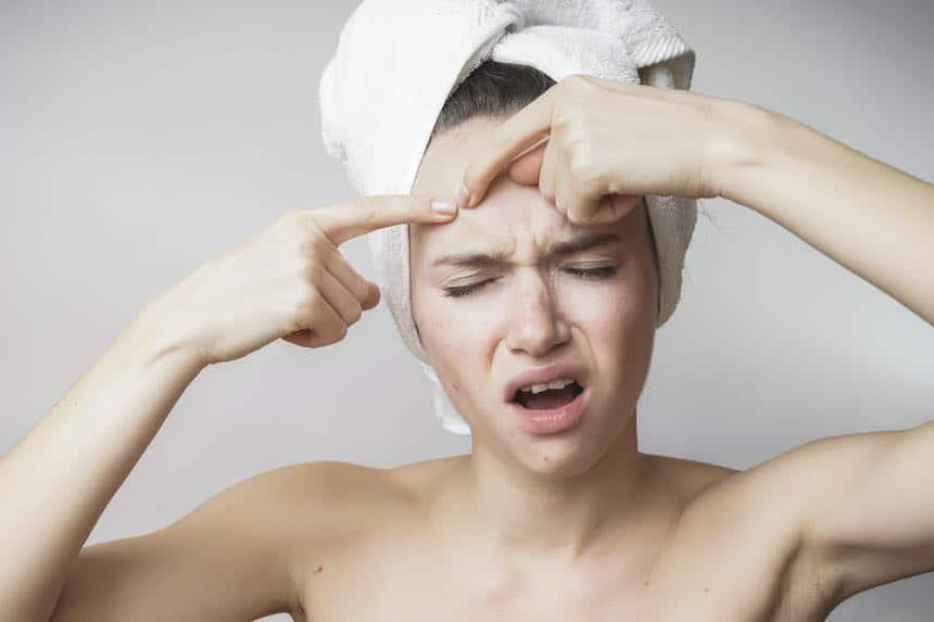 Silikone Hautprobleme