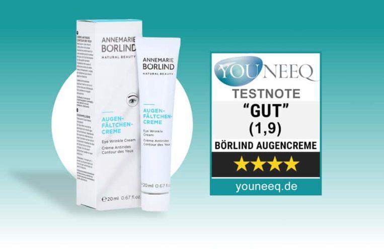 Annemarie Börlind Augenfältchen Creme Test