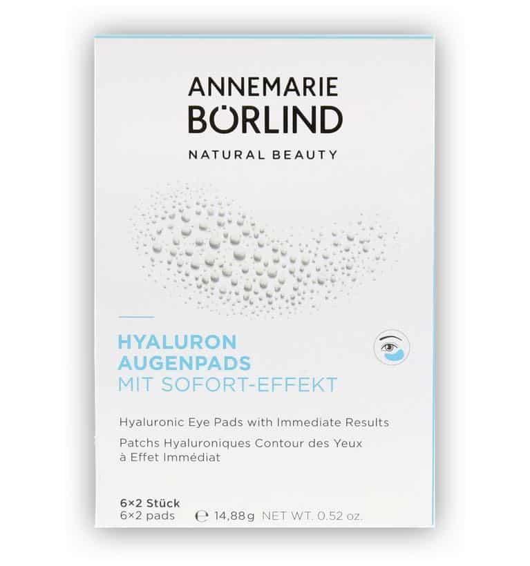 Annemarie Börlind Hyaluron Augenpads Test