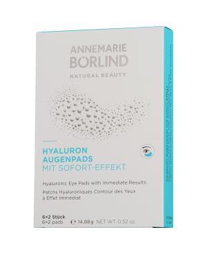 Annemarie Börlind Beauty Masks Hyaluron Augenpads mit Sofort-Effekt 6 x 2 Stück