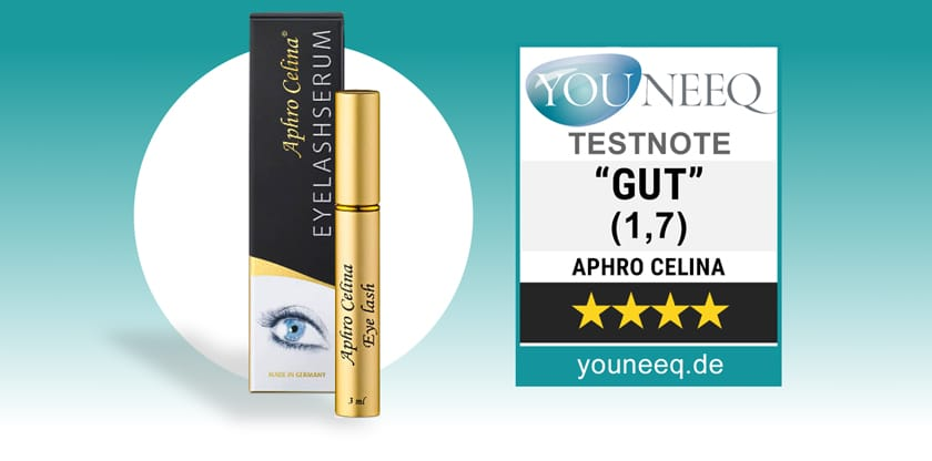 Aphro Celina Eyelash Serum Test 2020