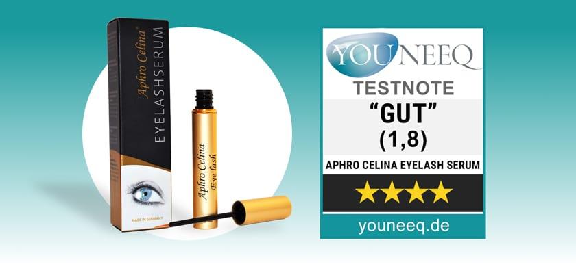 Aphro Celina Eyelash Serum Test 2021