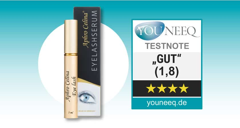 Aphro Celina Eyelash Serum Test