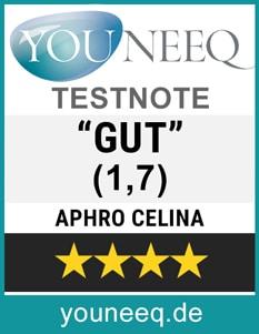 Aphro Celina Wimpernserum Test