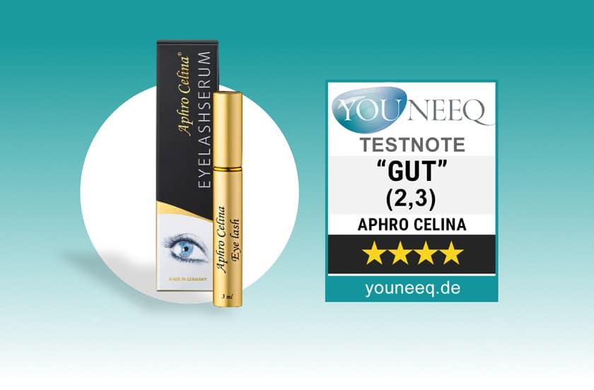Aphro Celina Eyelash Serum Test