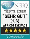 Apricot Eye Pads Test