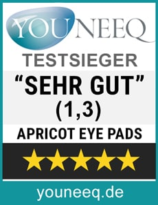 Apricot Eye Pads Test