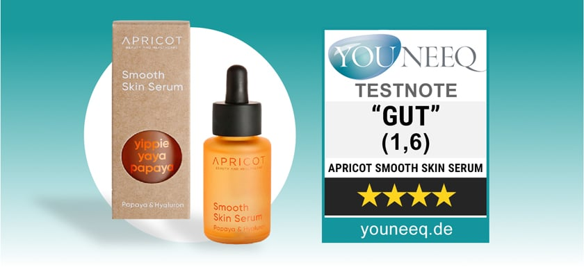 Apricot Hyaluron Serum Test