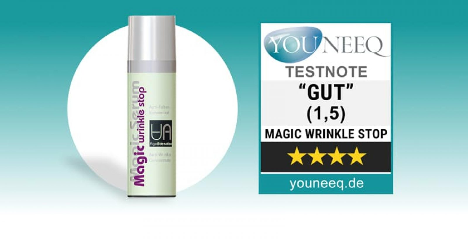 Magic Wrinkle Stop Augencreme Test