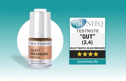Beautymates Selbstbräunung Booster Test
