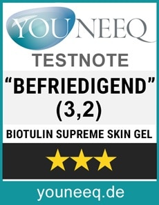 Biotulin Supreme Skin Gel Erfahrung