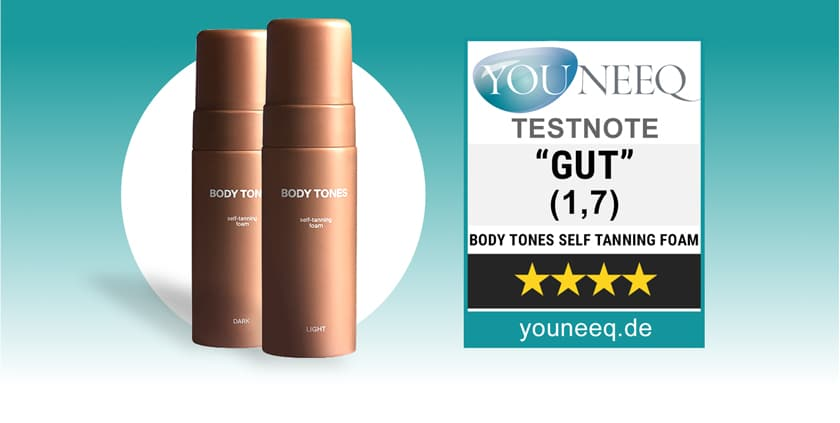 Body Tones Self Tanning Foam Test