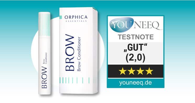 Brow Augenbrauenserum Test