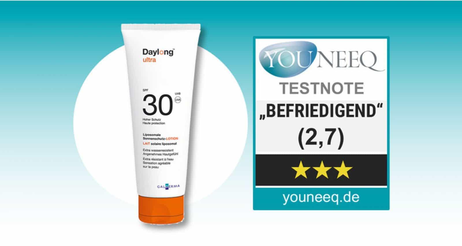 Daylong Ultra SPF 30 Test